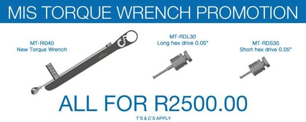 MIS Torque Wrench Promotion